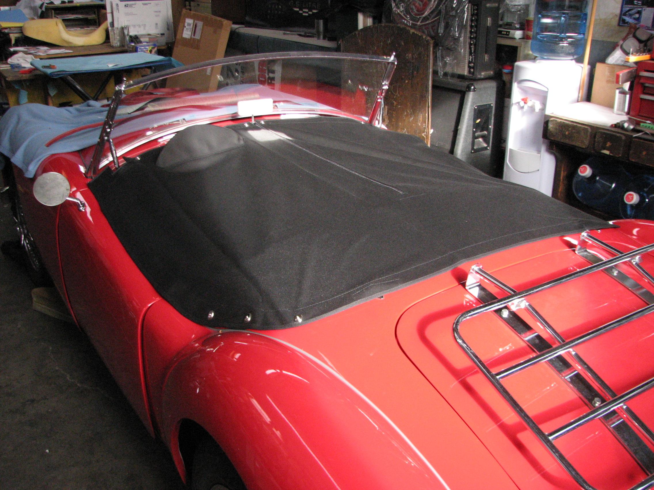 Custom Car Seats >> MGTD Custom Tops