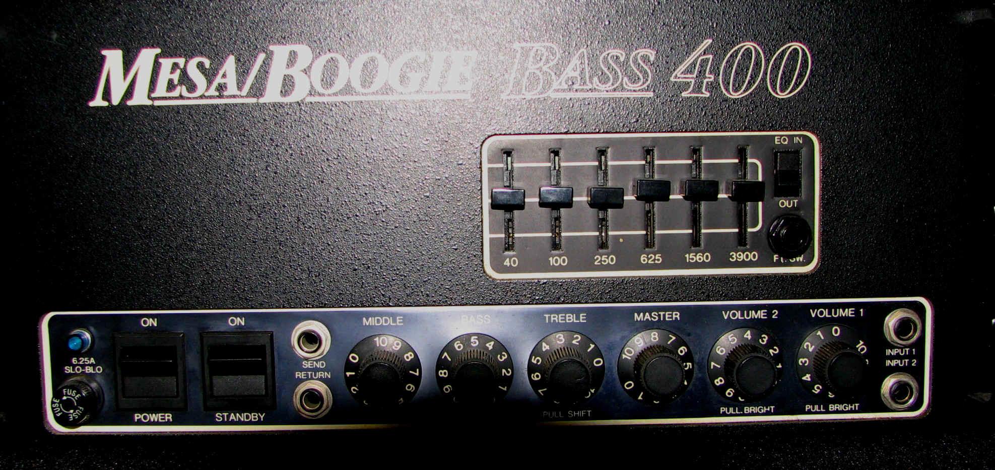 Megapost de amplificadores de bajo pruebas data fotos for Amplificadores mesa boogie