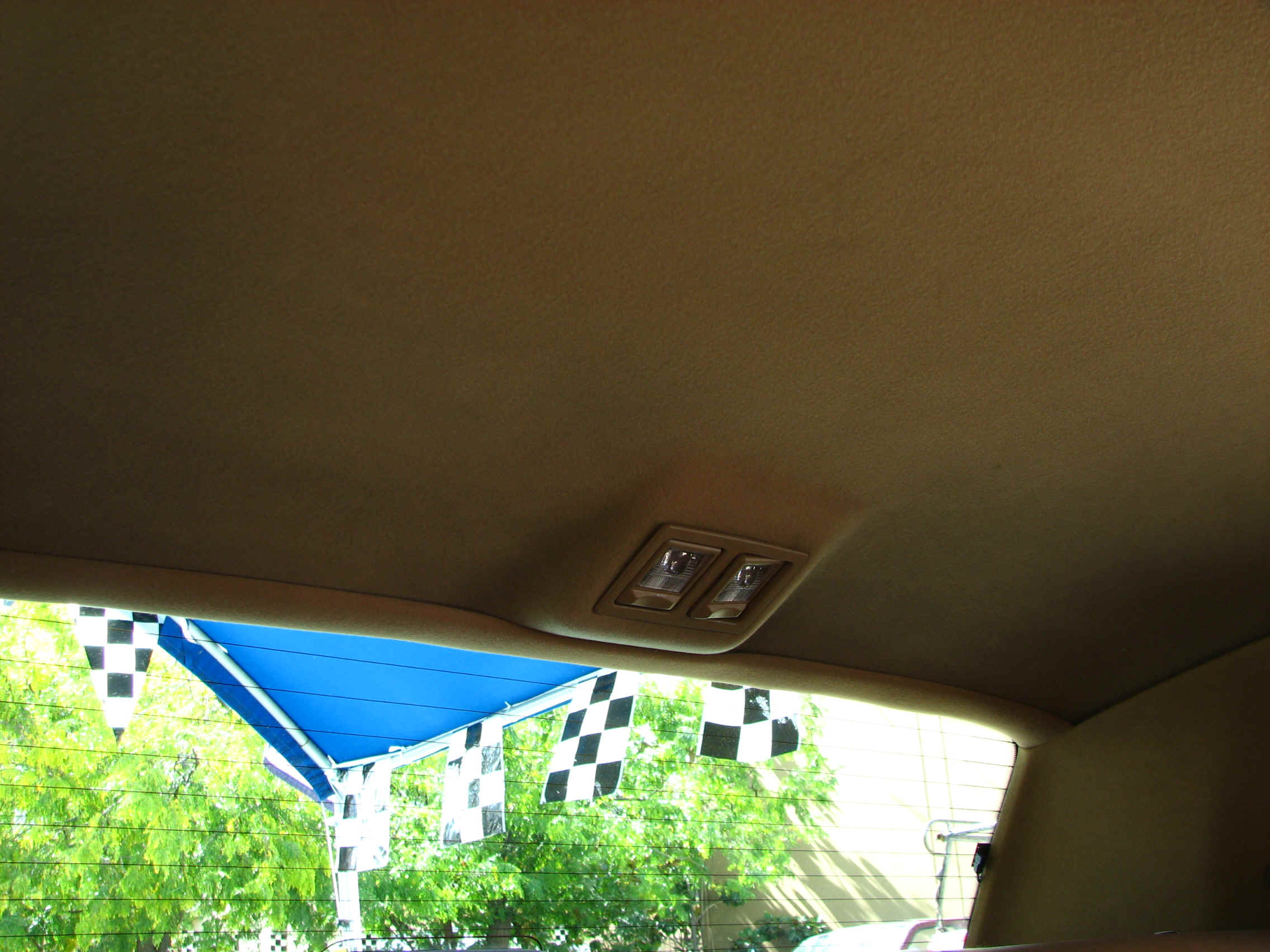 how to fix sagging headliner without removing