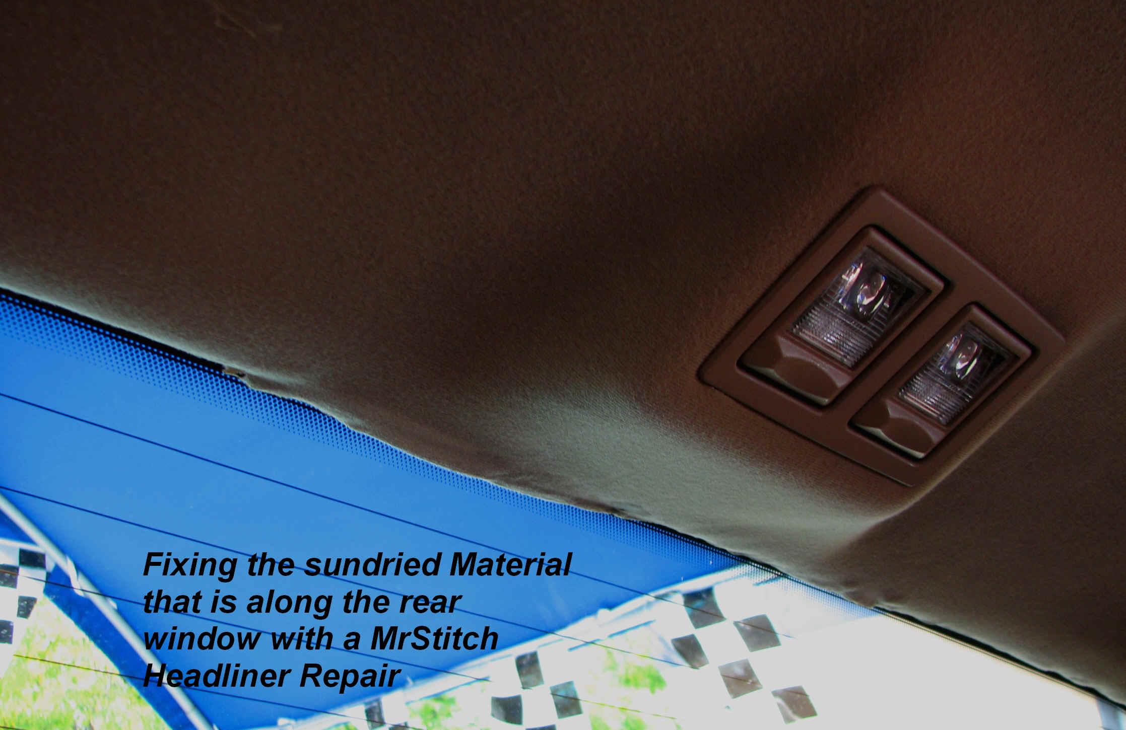 Car interior roof repair - See The Headliner Repair Before Headliner Repair Rear Window Old Jpg 2714560 Bytes