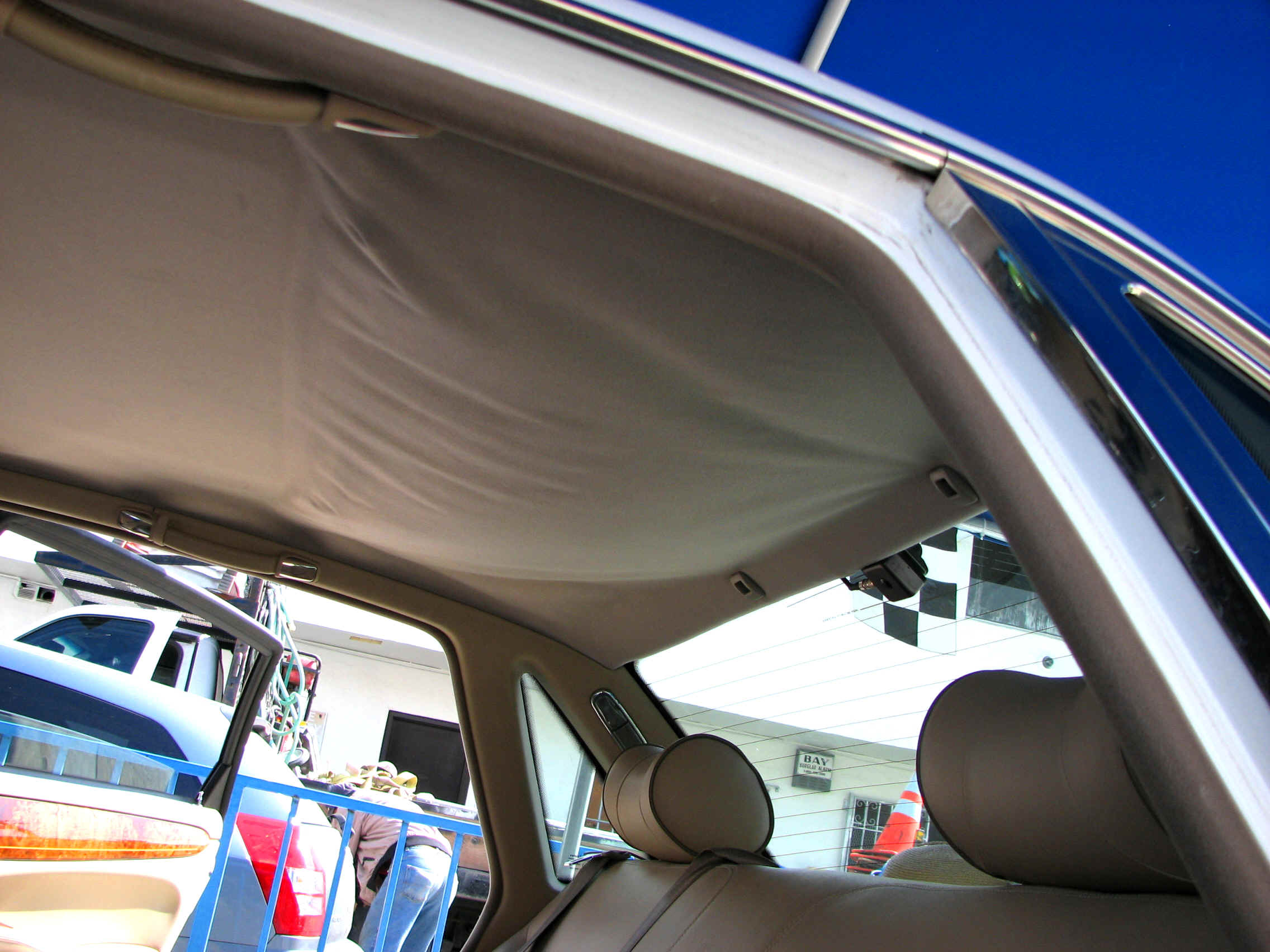 Headliners Car interior ceiling fabric repair