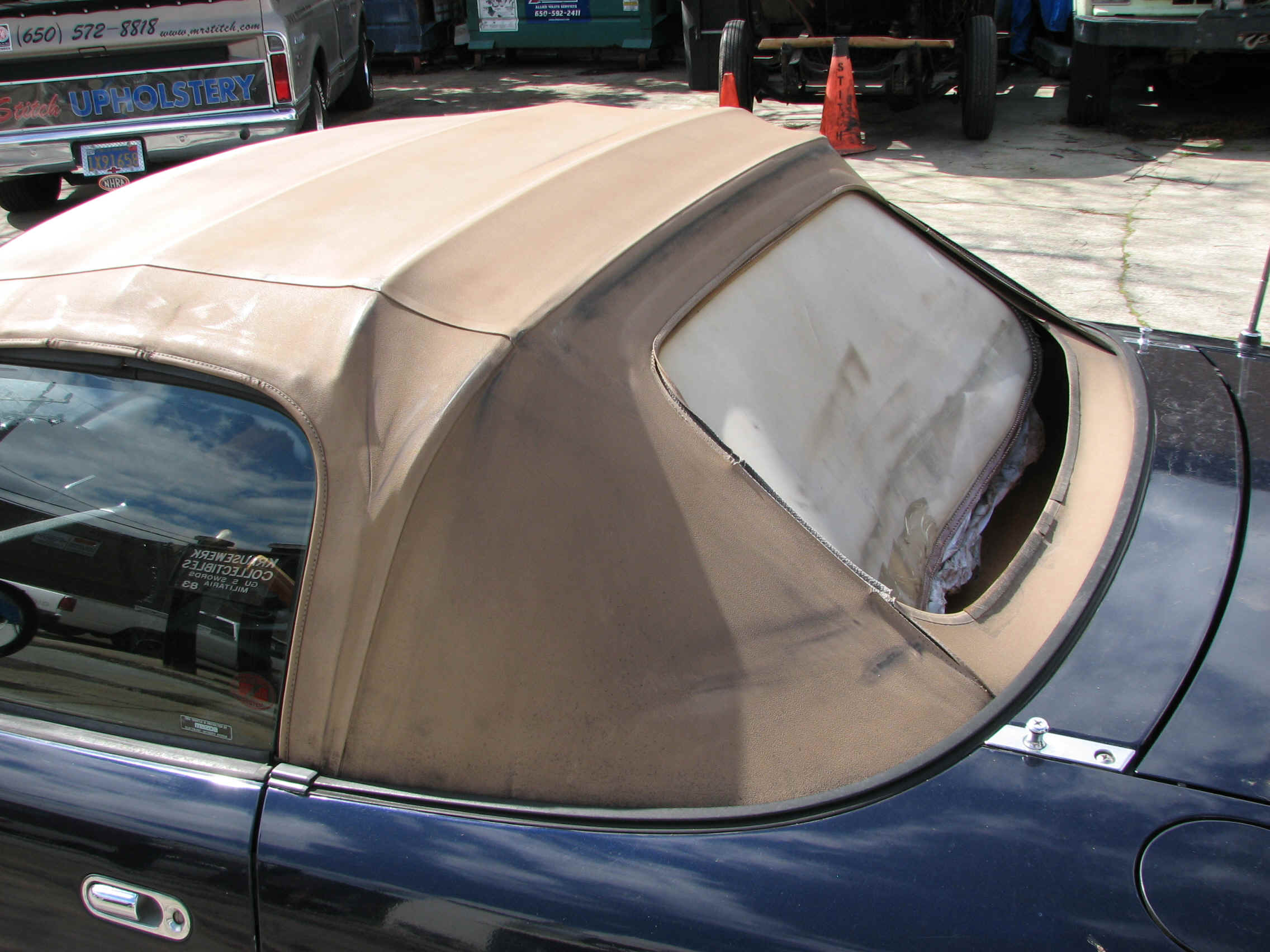 Before old plastic window mazda miata 97 old top plastic window 0 jpg 1702189 bytes